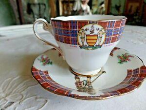 Royal-Standard-Bonnie-Ecosse-Clan-Cameron-Tasse-et-Soucoupe