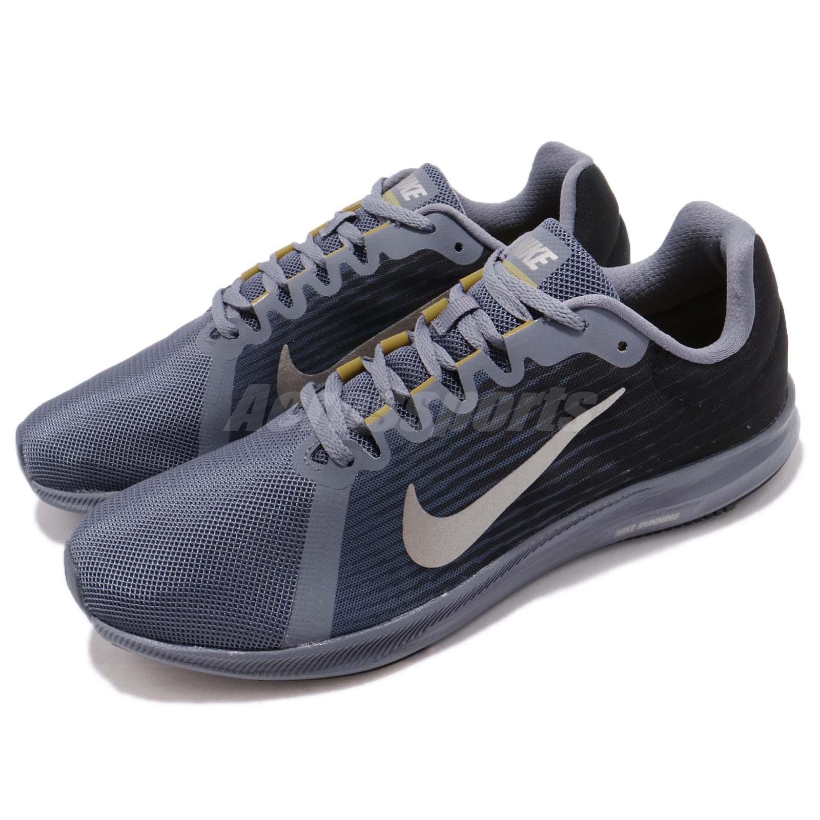 Nike downshifter 8 viii leichtes carbon - blauen männer laufschuhe turnschuhe 908984-011
