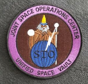 USAF Joint Space Operations Center NSA CIA NASA  1st LINE OF DEFENSE  PATCH
