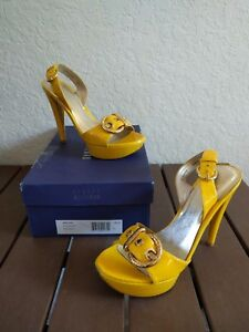 Yellow Stuart mujer 6 Tamaño para Sun Aniline Weitzman missjane Narrow 647245994741 Heels 5n BqZBXO