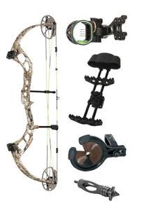 New Bear Archery Cruzer RTH Right Hand 70# Badlands Camo PKG AV82C20017R