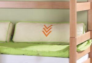 Etagenbett Einzelbett : Rückenleiste für einzelbett oder etagenbett moby kiefer natur