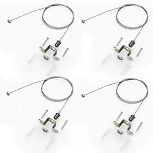 Decken-Montage Kit Seil-Abhängung Y Drahtseil 1M für LED Panele Panels Zubehör
