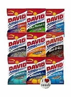 David Sunflower Seeds 9 Pack Variety (5.25 Ounce Each) Includes... Free Shipping