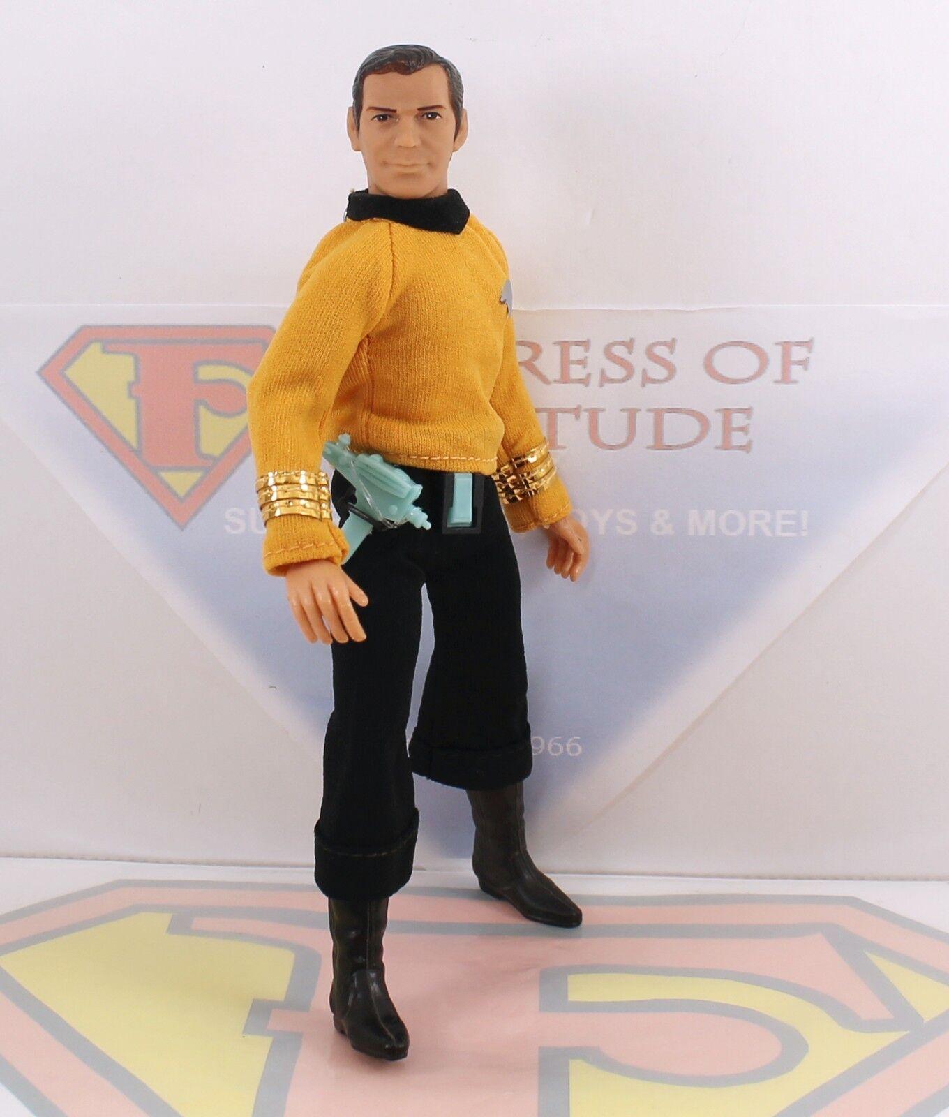 Mego 8  Type Type Type 1 Original Action Figure- Star Trek Captain Kirk COMPLETE MINTY 868f45