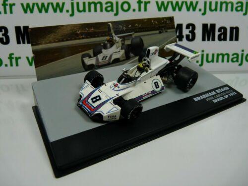 Sen10t eaglemoss 1//43 f1 bresil formula 1 brabham ford bt44b j.c Brazil 1975