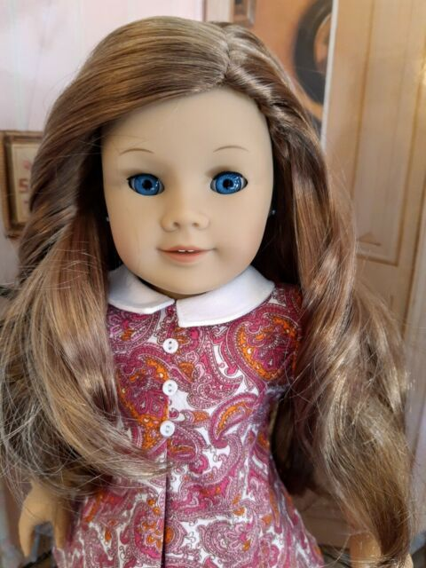 CUSTOM American Girl/Pleasant Company doll #4, Lea's hair, blue eyes