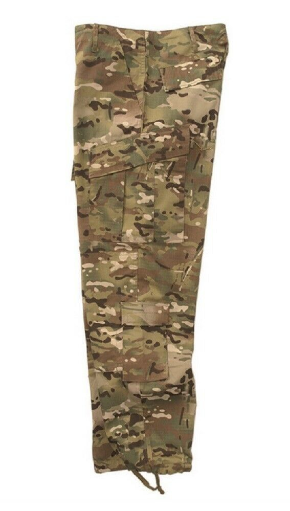 ACU US Large L Camouflage Camo Multi Hose Field Ripstop Army