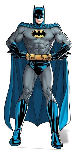 Batman Classic DC Comics Style Cardboard Cutout Stand Up - Great for parties