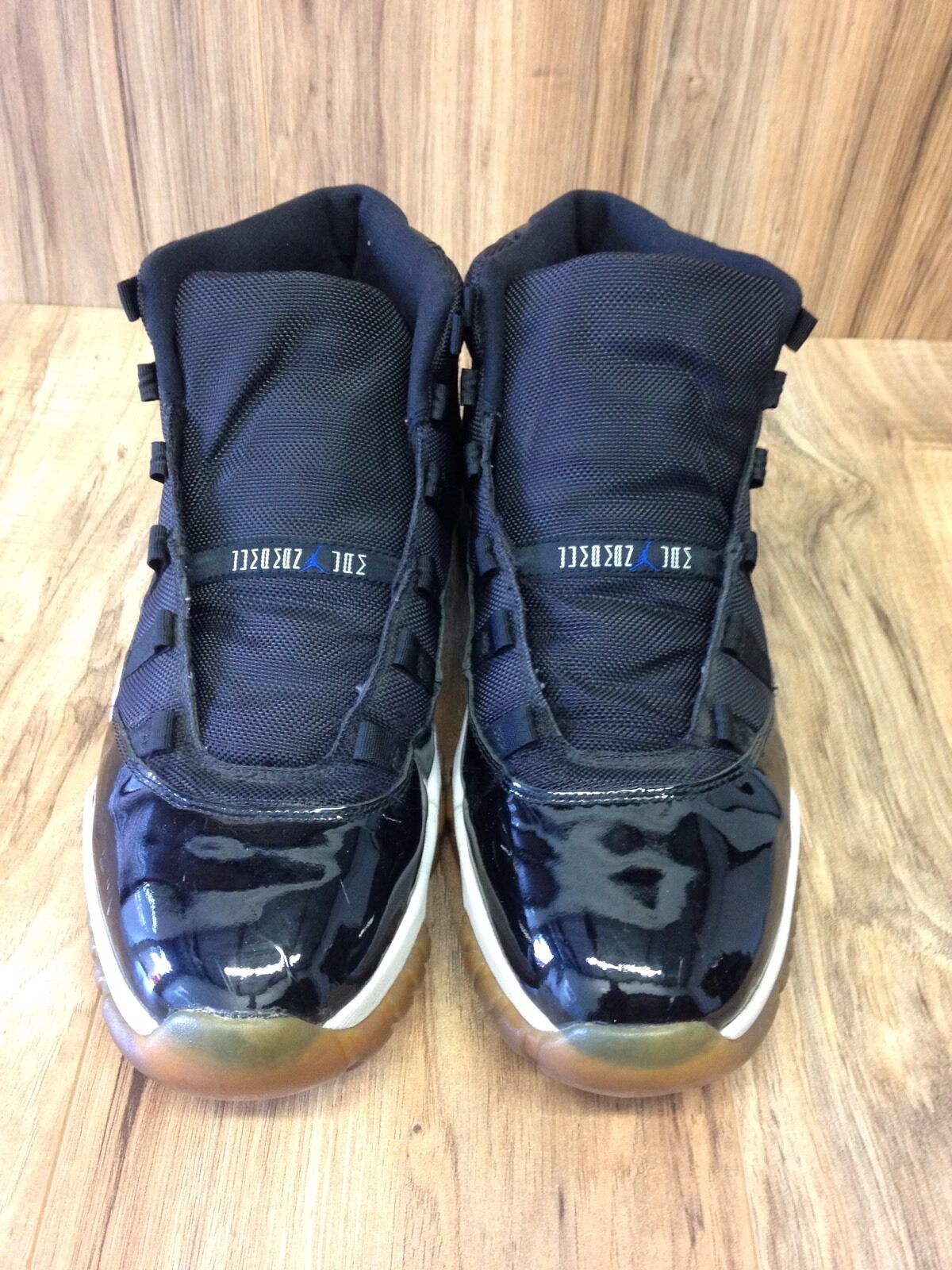 2000 2000 2000 Nike Air Jordan 11 XI Retro SZ13 OG Space Jam Black Varsity Blue 136046-041 b05752
