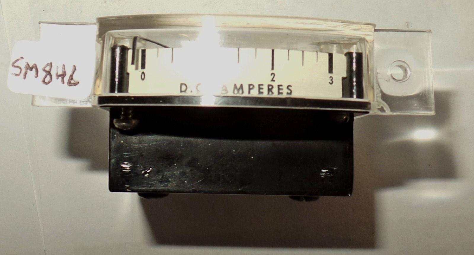 Dc Rettangolare Taglio Misuratore Amperometro Amp Metri Ampere 0-3