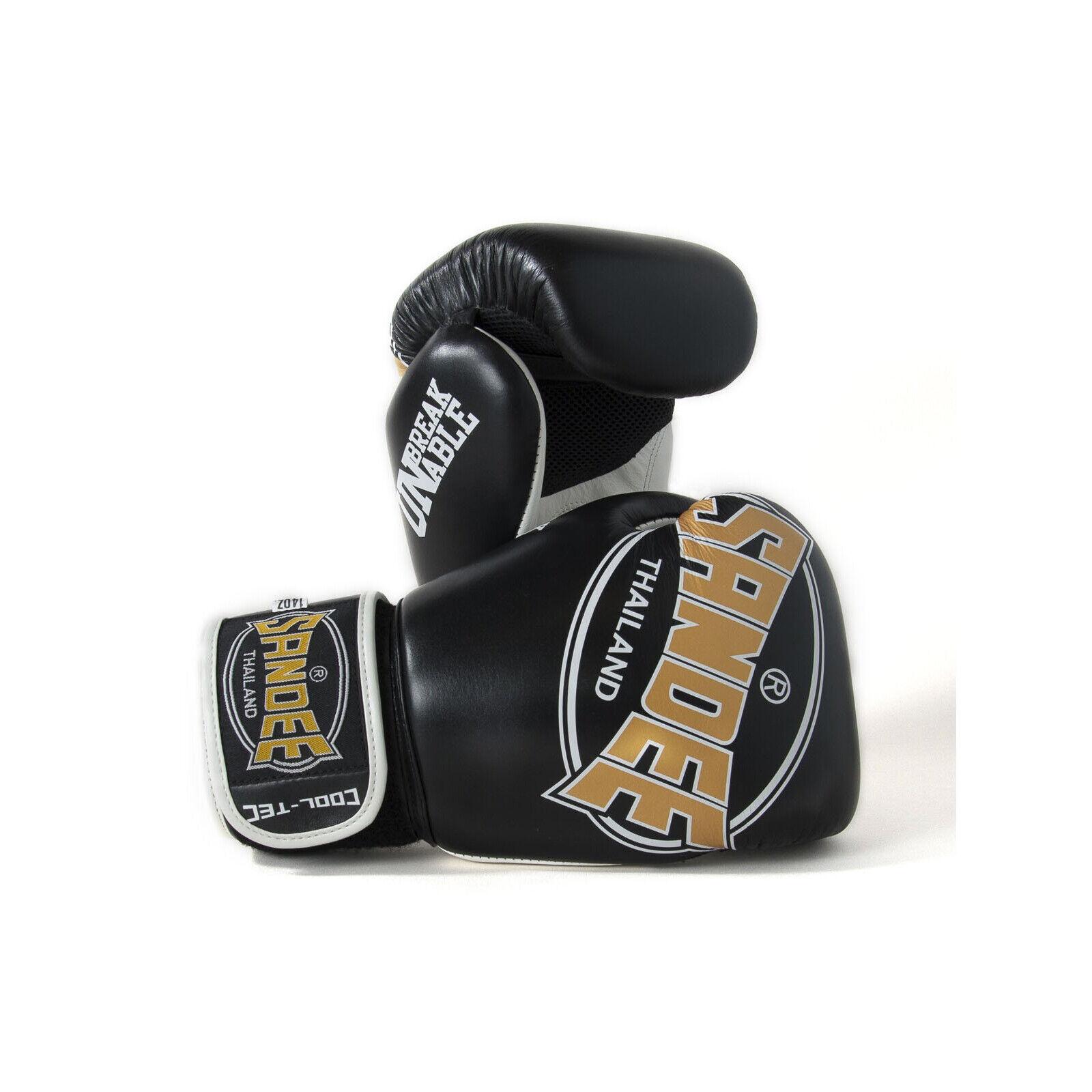 Seee CoolTec scatolae Guanti oro Nero Muay Thai Kickscatolaing Kickscatolaing Kickscatolaing Colpire tuttienamento 9e8