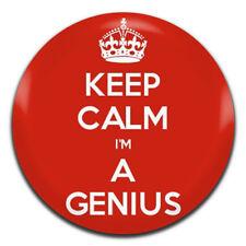 25mm Pin Button Badge Smart Intelligent Clever Brainy Brainiac Genius 1 Inch