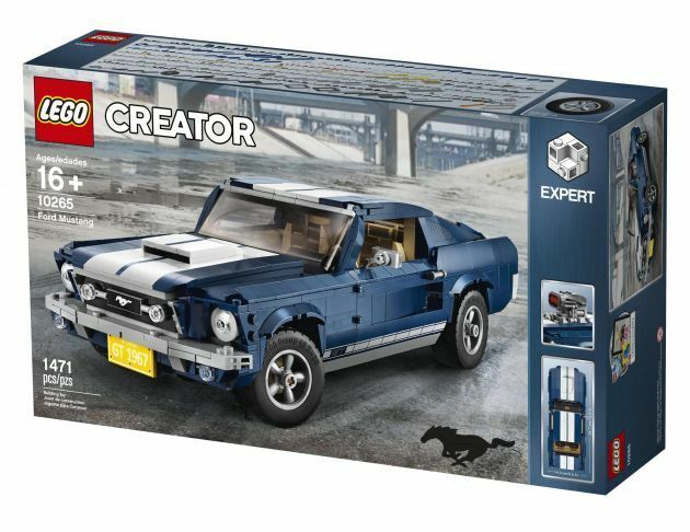 Lego 10265 FORD MUSTANG Brand New WORLDWIDE SHIPPING