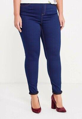 - Evans Vestibilità Skinny Di Jeans Blu Scuro Uk 26 Nuovo Di Zecca-mostra Il Titolo Originale