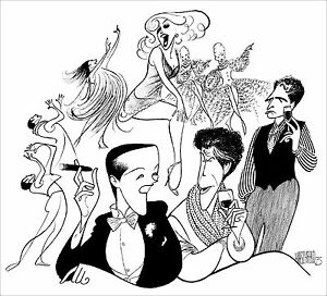 Al-Hirschfeld-039-s-VICTOR-VICTORIA-Hand-Signed-Limited-Edition-Lithograph