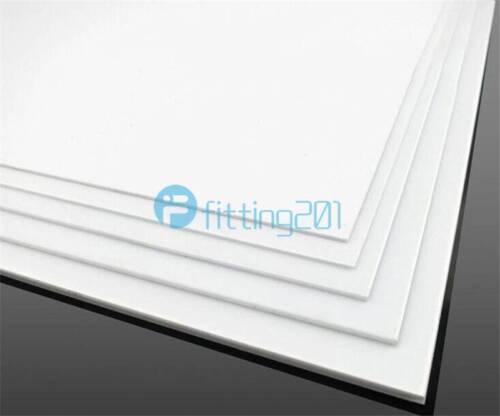 1pcs ABS Styrene Plastic Flat Sheet Plate 3mm x 100mm x 100mm White NEW