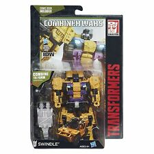Transformers Generations Combiner Wars Deluxe Combaticon SWINDLE with Comic