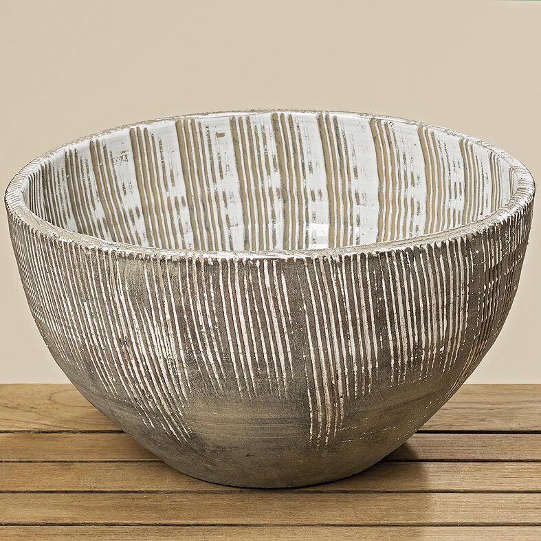 Schale Schale Schale aus Terrakotta braun 38cm | Billig ideal  5cb97f