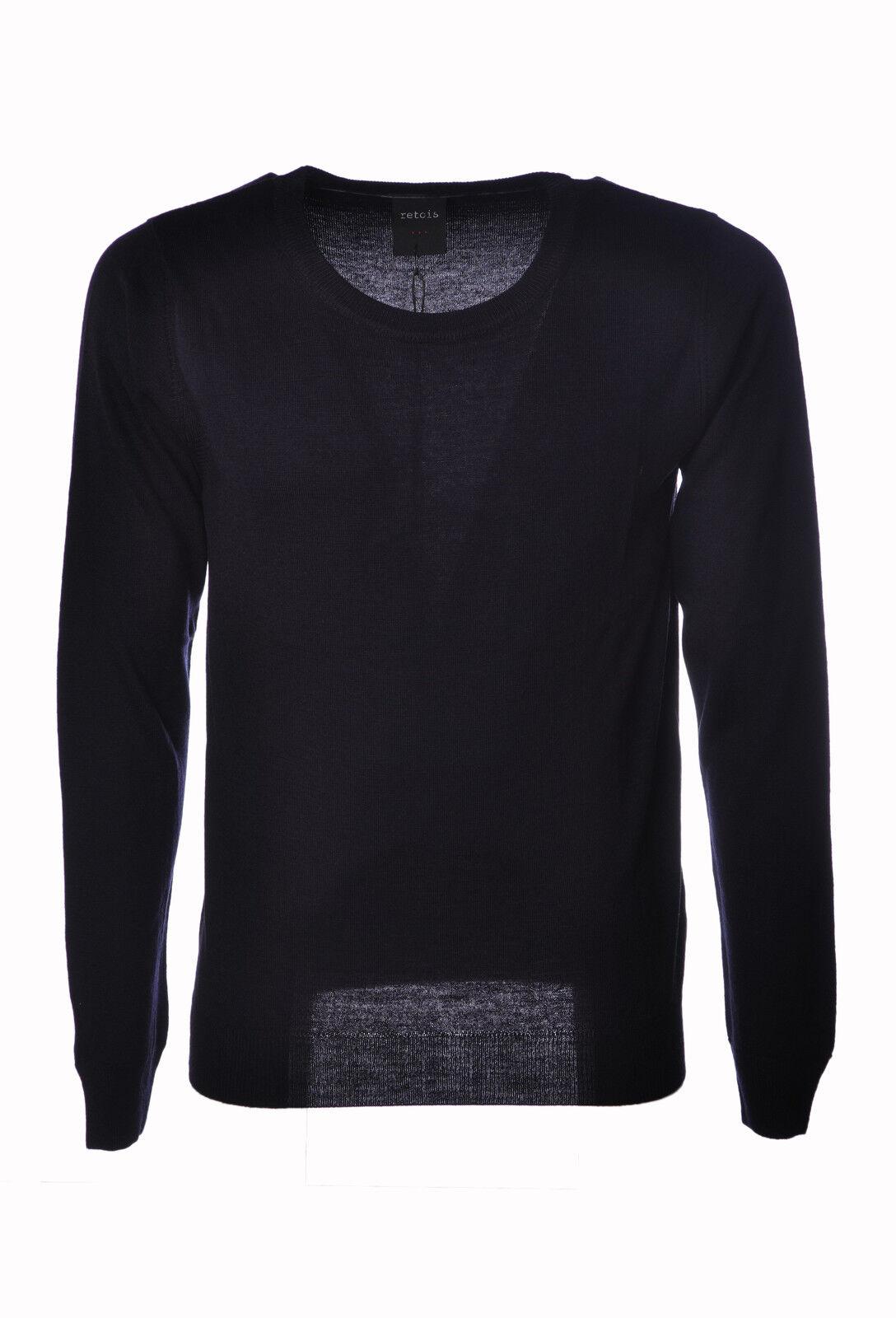Retois  -  Sweaters - Male - Blau - 3861630A184109