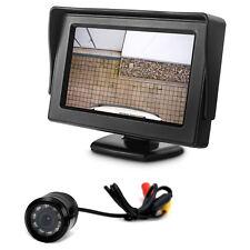 Auto Parkhilfe mit Bildschirm und PKW KFZ Rückfahrkamera System komplett Set 12V