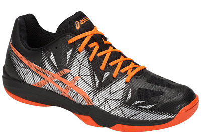 Details about Asics Mens Gel Fastball 3 Court Shoes Black