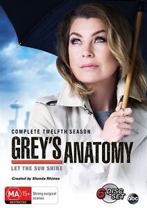 Grey-039-s-Anatomy-Season-12-DVD-NEW-Region-4-Australia