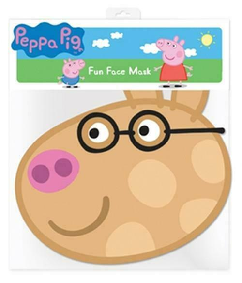 Pedro Pony Officially Licensed Single Card Party Fun Face Mask from Peppa Pig
