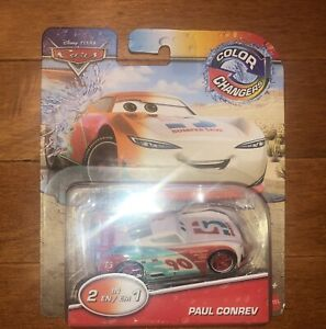 Disney Pixar Cars 1//55th New Color Changers PAUL CONREV