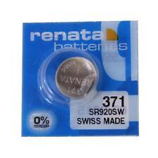 Renata 371 (SR920SW) Swiss Made Watch Battery brand New