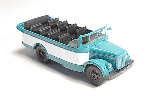 chassis GAZ-51 TSARM 1//43 Resort bus 1966