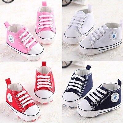 Fashion Infant Toddler Kid Newborn Baby Boy Girl Shoes Sneaker Trainer Multi SDF