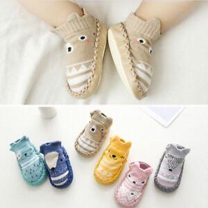 Newborn-Baby-Kids-Toddler-Anti-Slip-Shoes-Cartoon-Slipper-Floor-Socks-Boots-Hot