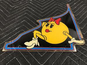 Bally-Baby-Pac-Man-Pinball-Machine-Playfield-Plastic-M-1330-205-1-FREE-SHIP