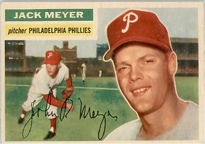 Sports Trading Cards Hot Sale 1956 Topps 269 Jack Meyer Rc Ex-mt #d267529 Refreshment