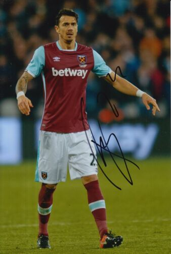 WEST HAM UNITED HAND SIGNED JOSE FONTE 12X8 PHOTO PROOF 2.