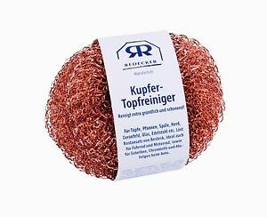 Redecker Kupfer Topfreiniger Pad - Reinigungsschw<wbr/>amm  2er Set