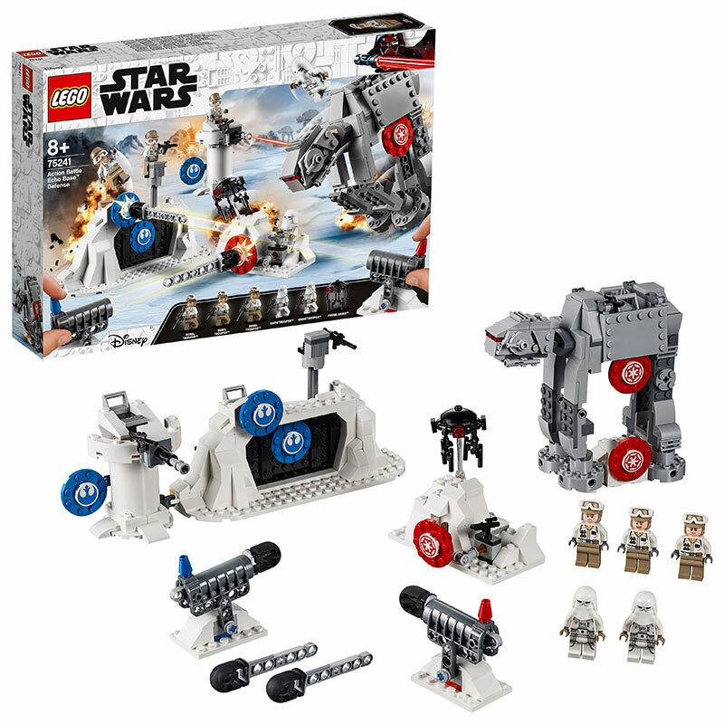 Lego Star Wars Action Combat ECHO BASE  DEFENSE Set 75241  qualité officielle