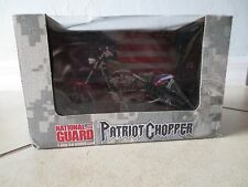 RARE Patriot Chopper Motorcycle Collectible 1:18 Scale National Guard New 2008