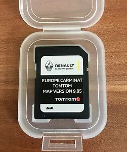 renault carminat tomtom carte sd navigation carte 2017 2018 gps ebay. Black Bedroom Furniture Sets. Home Design Ideas