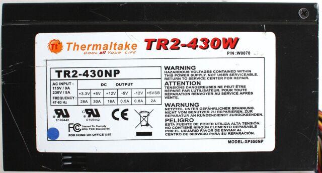 POWER SUPPLY ATX TR2-430W, P/N W0070, MODEL XP550NP