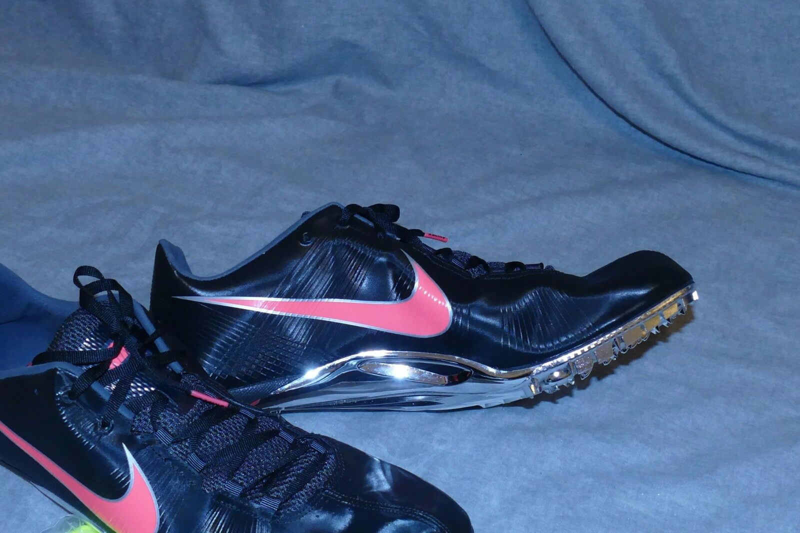 NIKE ZOOM JA FLY Track Running Shoe w/ Spikes 487624 061 Sz 15 Black/Crimson Seasonal clearance sale