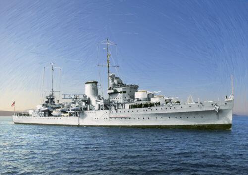 HMS Segunda Guerra Mundial Neptuno-Edición Limitada Arte 25
