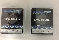 2 Pack 28 Chainsaw Chain 3/8-050-92dl Replaces Stihl Husky 72lgx92g 33rsc-92