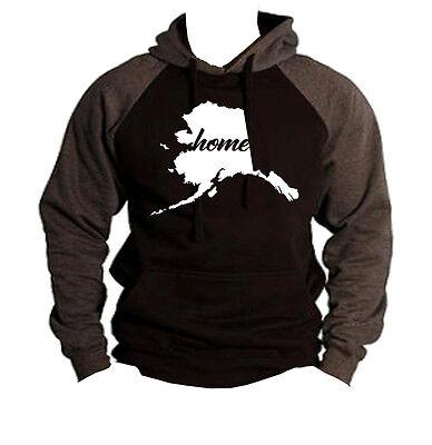 Home Colorado Map Black Raglan Hoodie sweater State Pride Hometown Homeland V258