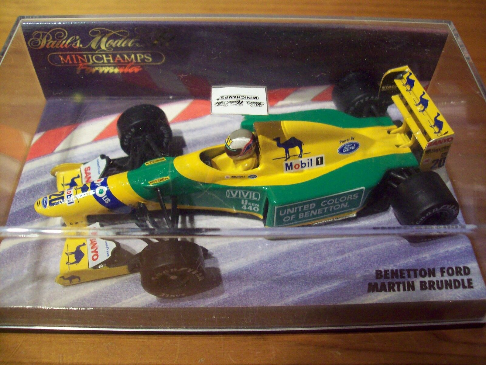 1 43 Benetton 1992 FORD B192 Martin Brundle