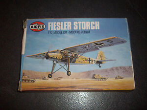 AIRFIX-FIESLER-STORCH-PLASTIC-MODEL-1-72