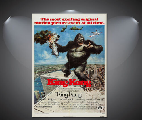A4 available King Kong Vintage Movie Poster A2 A3 A1