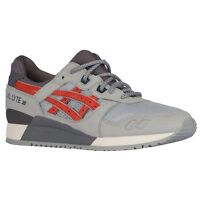 Asics Gel Lyte Iii Men's Running Shoes Light Grey/chili 100%authentic
