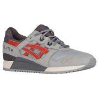 Asics Gel Lyte Iii Men's Running Shoes Light Grey/chili 100%authentic